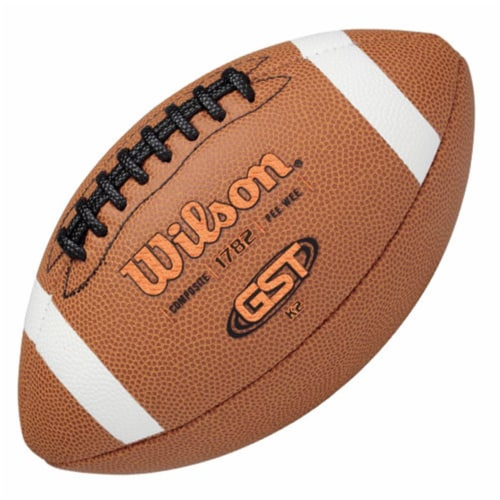 Wilson 1297317 GST Composite Football - K2 Perspective: front