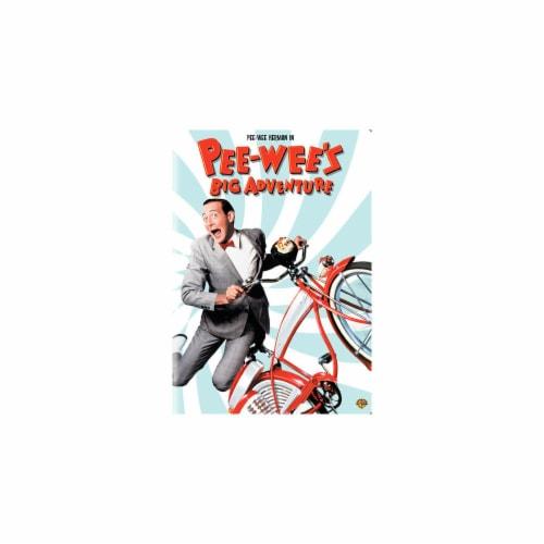 Pee-Wee's Big Adventure (DVD - 1985) Perspective: front