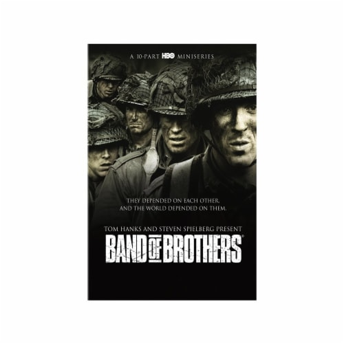 Band of Brothers Complete Mini-Series on DVD Perspective: front