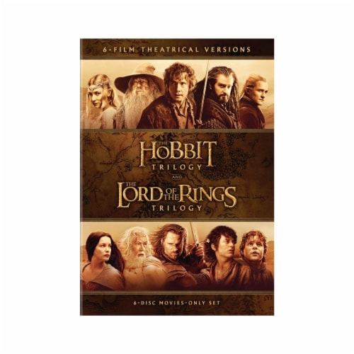 The Hobbit Trilogy and The Lord of the Rings Trilogy (DVD) Perspective: front