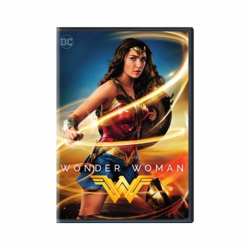 Wonder Woman (2017 - DVD) Perspective: front