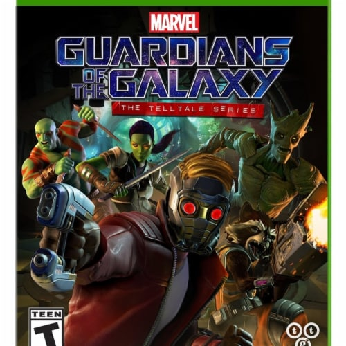 Warner Brothers 1000639924 Marvels Guardians of the Galaxy Telltale Series Xbox One Perspective: front