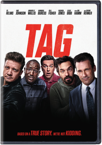 Tag (2018 - DVD) Perspective: front