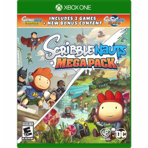 Warner Brothers 1000728795 Scribblenauts Mega Pack Xbox One Action & Adventure Game Perspective: front