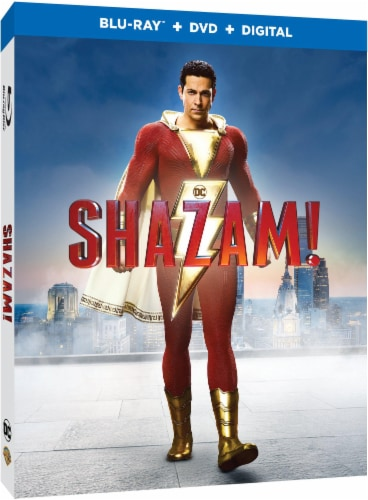 Shazam! (2019 - Blu-Ray/DVD Combo/Digital HD) Perspective: front