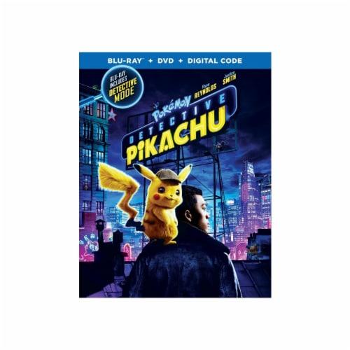 Pokémon: Detective Pikachu (2019 - Blu-Ray/DVD/Digital Copy) Perspective: front