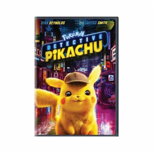 Pokémon: Detective Pikachu (2019 - DVD) Perspective: front