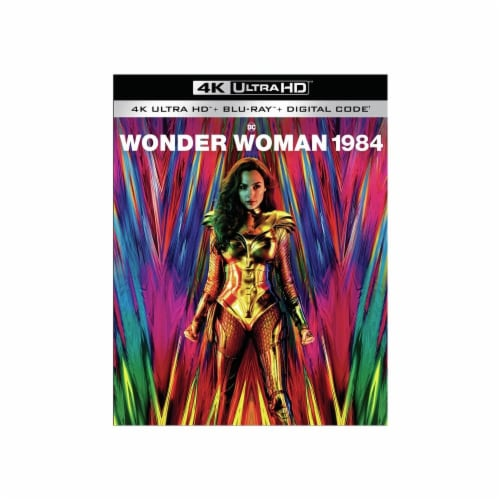 Wonder Woman 1984 (2020 - 4K + Blu-Ray + Digital Copy) Perspective: front