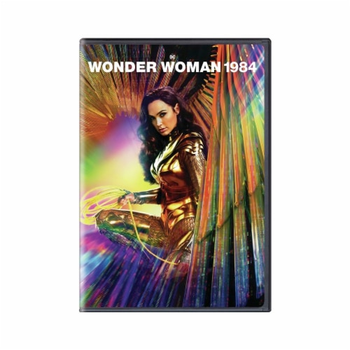 Wonder Woman: 1984 (DVD) Available for Preorder to Ship 3/30 Perspective: front