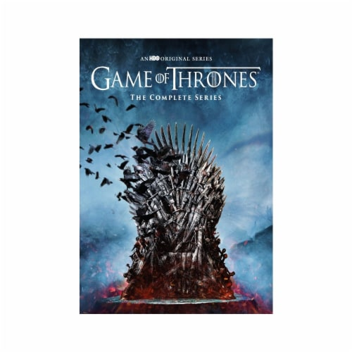 Game of Thrones The Complete Series on DVD Perspective: front