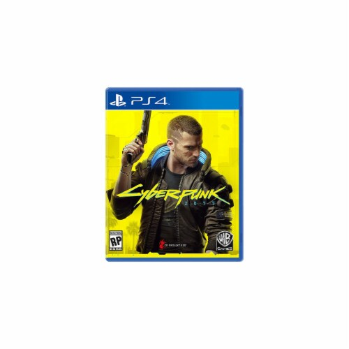 Warner Brothers 1000746373 Cyberpunk 2077 PlayStation 4 Game Perspective: front