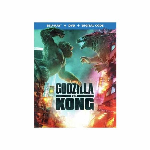 Godzilla vs Kong (2021 - Blu-Ray/DVD/Digital Copy) Perspective: front