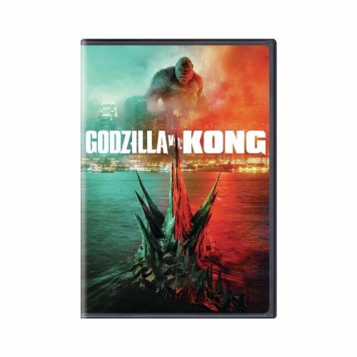 Godzilla vs Kong (2021 - DVD) Perspective: front