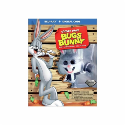 Bugs Bunny 80th Anniversary Collection (Blu-ray + Digital) Perspective: front