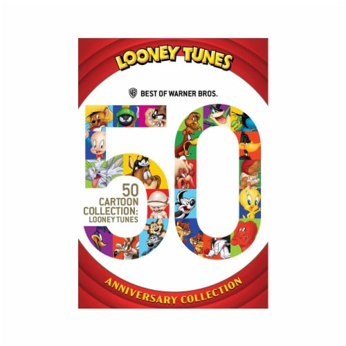 Best of Warner Brothers: 50 Cartoon Collection - Looney Tunes (DVD) Perspective: front