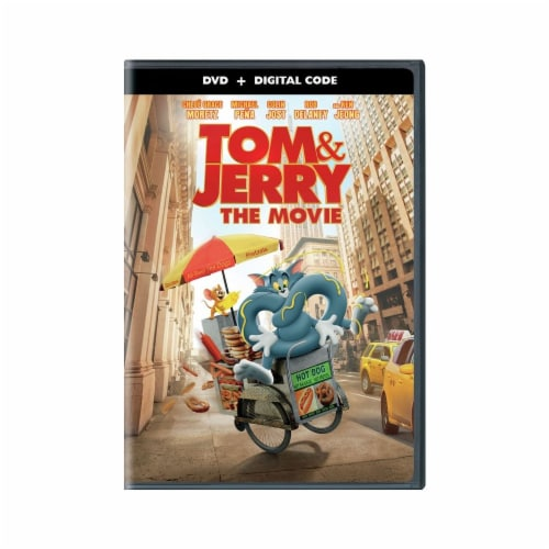 Tom & Jerry: The Movie (DVD + Digital Copy) Available for Preorder to Ship 05/18 Perspective: front