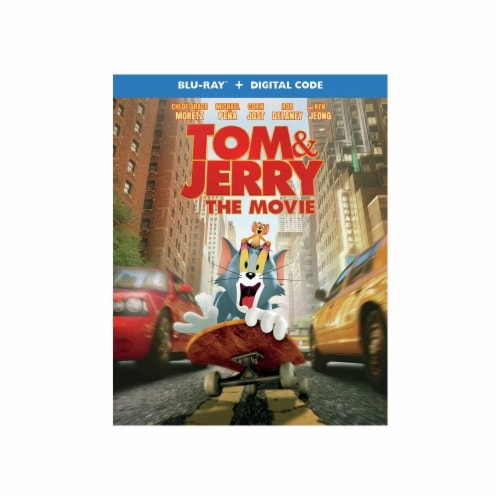 Tom & Jerry: The Movie (Blu-Ray + Digital Copy) Available for Preorder to Ship 05/18 Perspective: front