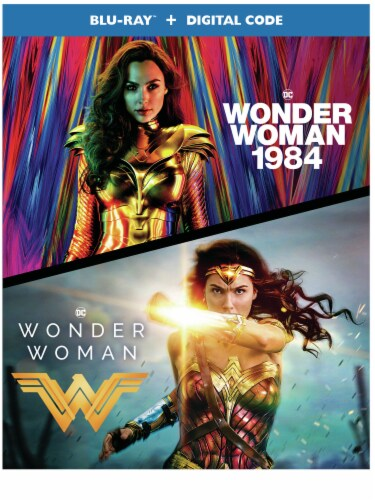 Wonder Woman/Wonder Woman: 1984 (Blu-Ray + Digital) Available for Preorder to Ship 3/30 Perspective: front