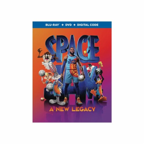 Space Jam: A New Legacy (2021 - Blu-Ray/DVD/Digital Code) Perspective: front