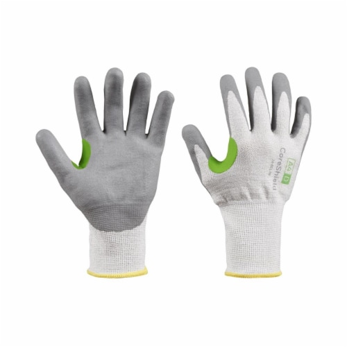 Coreshield™ A4/D Coated Cut Resistant Gloves, 6/Xs, Hppe/Basalt, Nitrile Micro-Foam, 13 Ga, Perspective: front