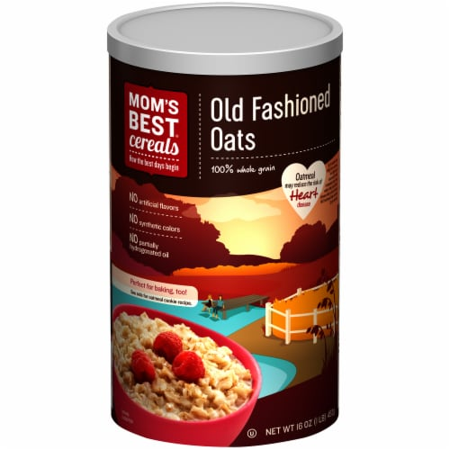 Mom's Best Cereals Old Fashioned Oats Perspective: front