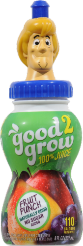 Good 2 Grow 100% Juice Fruit Punch Perspective: front
