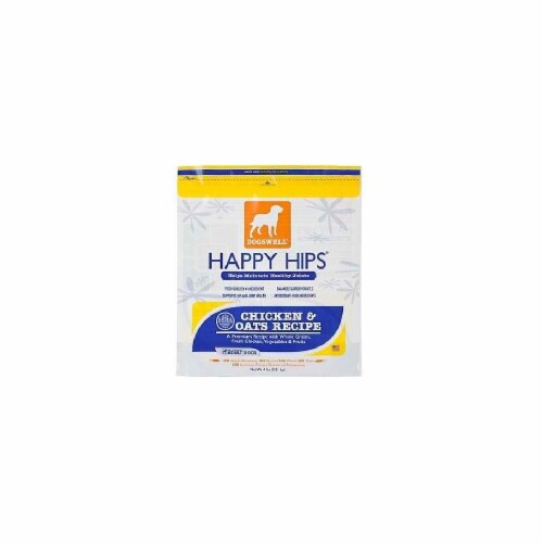 Dogswell Happy Hips Chicken & Oats Dog Food Perspective: front