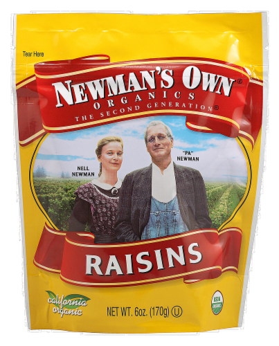Newman's Own Organic Raisins Perspective: front