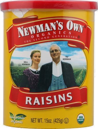 Newman's Own Organic California Raisins Perspective: front
