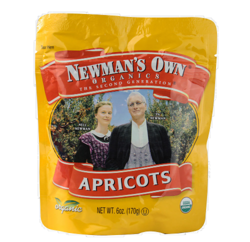 Newman's Own Organics Apricots Perspective: front
