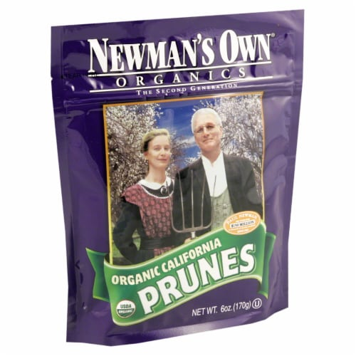Newman's Own Organics Organic California Prunes Perspective: front
