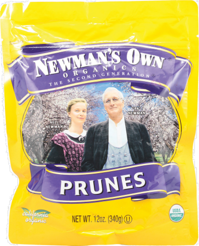 Newman's Own Organic Pitted Prunes Perspective: front