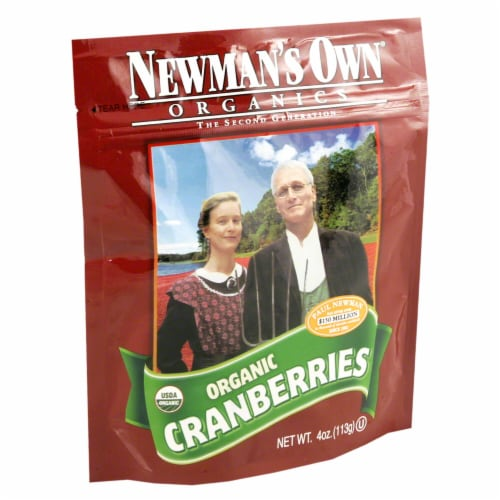 Newman's Own Organic Organic Dried Cranberries Perspective: front