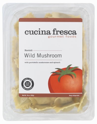 Cucina Fresca Wild Mushroom Ravioli Perspective: front