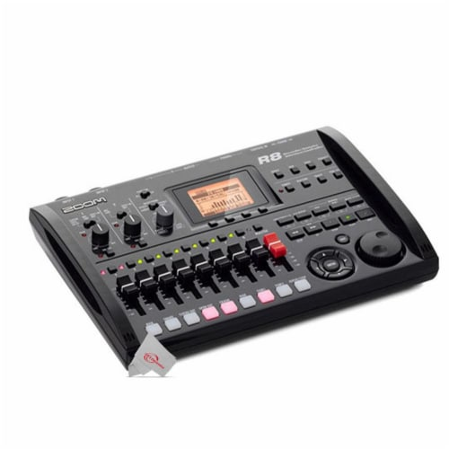 Zoom R8 8-track Digital Recorder / Interface / Controller / Sampler Perspective: front