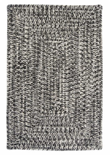 Colonial Mills Catalina Rug - Blacktop Perspective: front