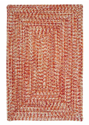 Colonial Mills Catalina Rug - Fireball Perspective: front