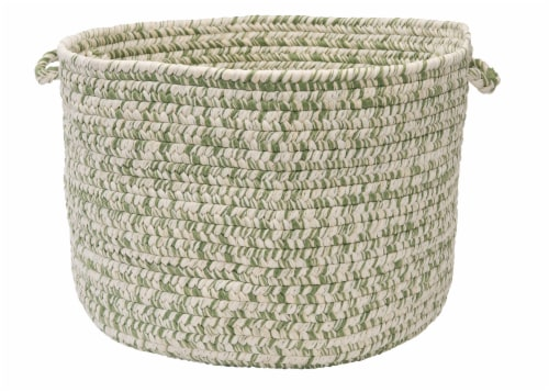 Colonial Mills Catalina Basket - Greenery Perspective: front
