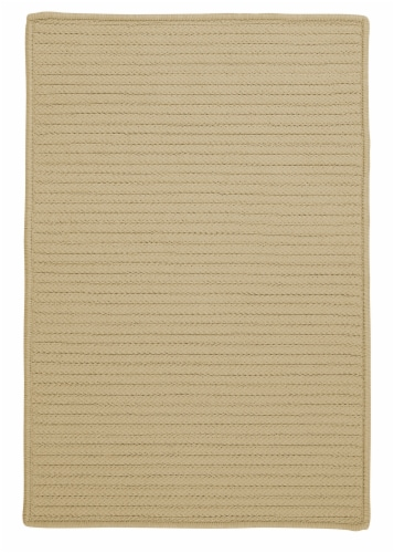 Colonial Mills Simply Home Solid Rugs - Linen Perspective: front