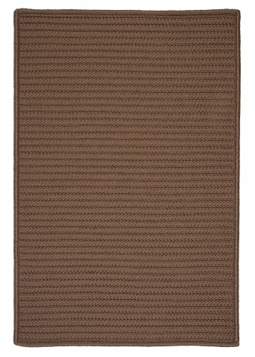 Colonial Mills Simply Home Solid Rugs - Cashew Perspective: front