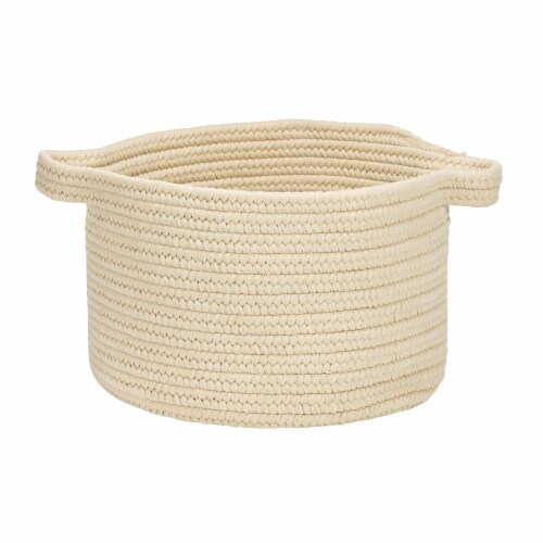 Colonial Mills Lifestyle Texture Solid Basket - Linen Perspective: front