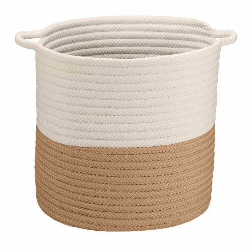Colonial Mills Craftworks Basket - Sand Perspective: front