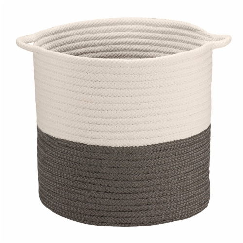 Colonial Mills Craftworks Basket - Gray Perspective: front