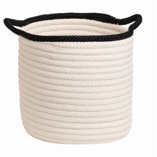 Colonial Mills Sonoma Basket - White Perspective: front