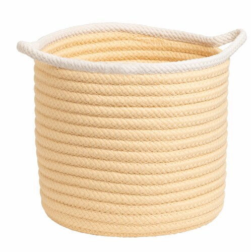 Colonial Mills Sonoma Basket - Yellow Perspective: front