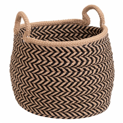 Colonial Mills Preve Basket - Taupe/Black Perspective: front