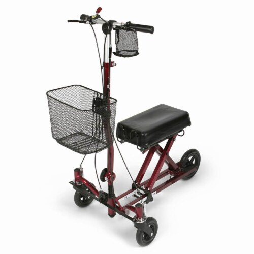 Medline Gen 2 Knee Walker Perspective: front