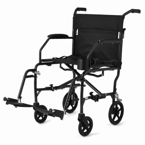 Medline Ultralight Wheelchair Perspective: front