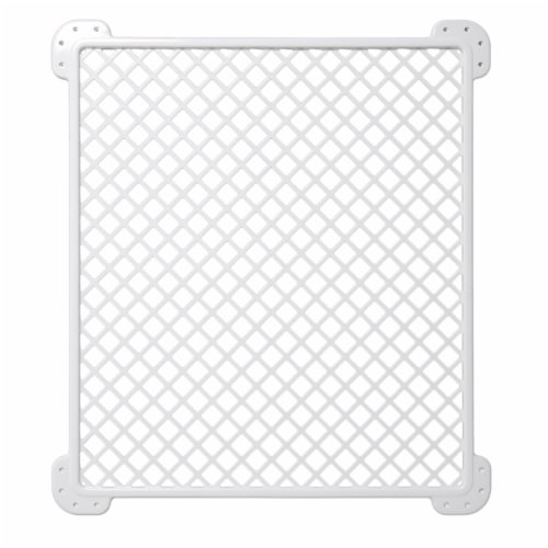 Safety 1st Screen Door Saver Baby/Kid/Pet Security Gate Perspective: front