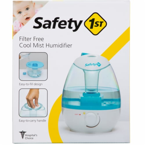 Safety 1st Filter Free Cool Mist Humidifier - Blue Perspective: front